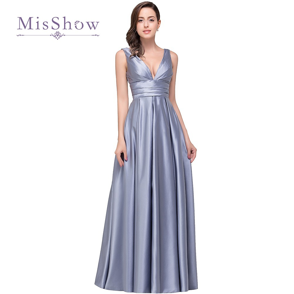 Popular silver long bridesmaids dresses buy cheap silver long real photo purple silver long maternity bridesmaid dresses 2017 cheap floor length v neck wedding party ombrellifo Image collections