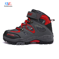 Kindstraum 2018 New Winter Kids Running Sports Shoes Warm Outdoors Non Slip Genuine Leather Rubber Boys