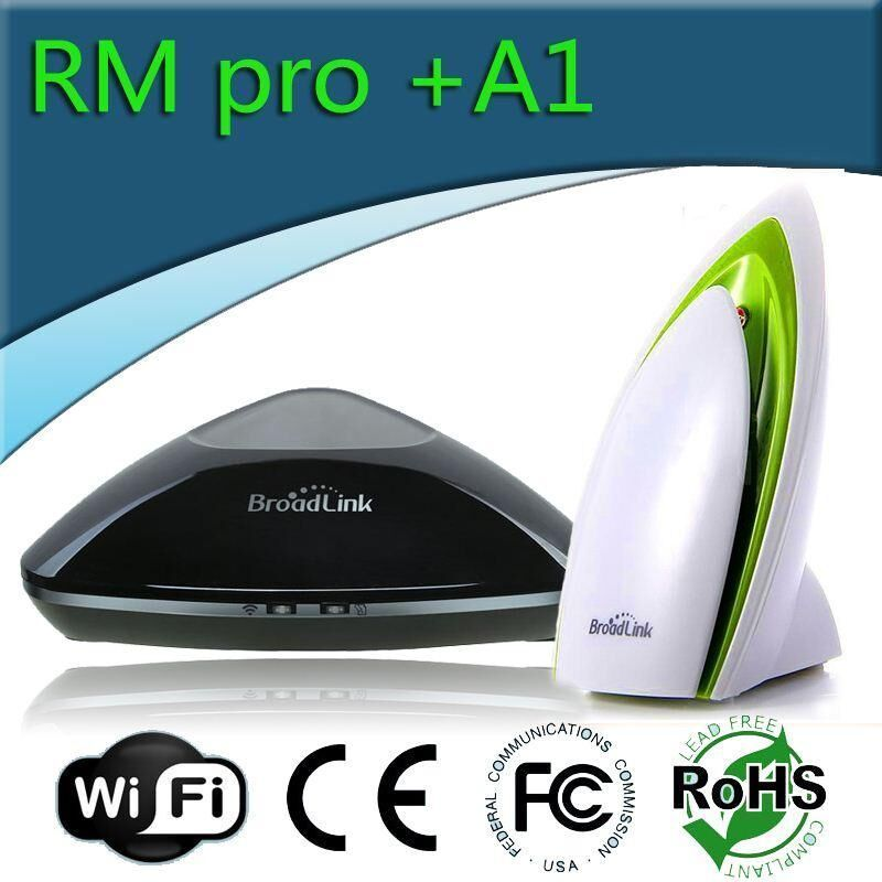 New Broadlink RM Pro RM2 Universal Intelligent controller,Smart home Automation,WIFI+IR+RF Switch remote control with BroadlinA1 smart home automation broadlink rm2 rm pro universal intelligent remote controller wifi ir rf switch via ios android phone
