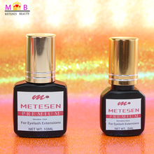 METESEN BEAUTY eyelash extension glue professional lash black 1-2s Dry Time Most Powerful Fastest