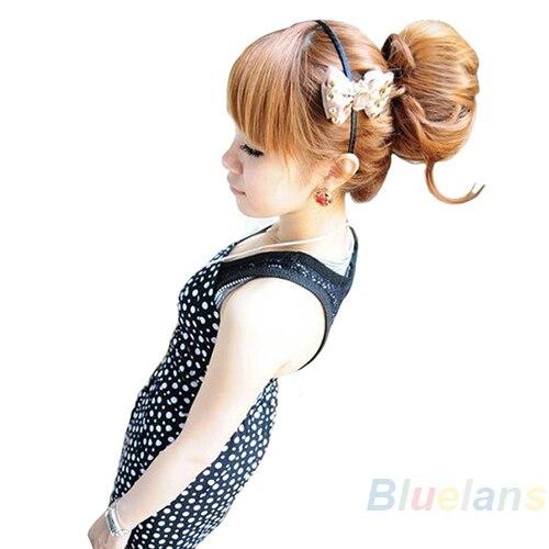 Beauty & Health Fashion Hair Donut Bun Ring Shaper Roller Styler Maker Brown Black Blonde Hairdressing Elastic Round Hair Styling Tools