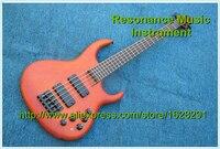 100%リアル写真エレクトリックベースギター5弦ローズウッド指板なしでインレイ