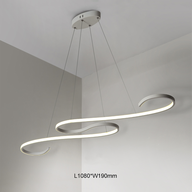 Здесь продается  Modern LED Pendant Lights for Living Dining Room DIY Hanging Lighting AC85~265V Aluminum decoration Pendant lamp free shipping  Свет и освещение