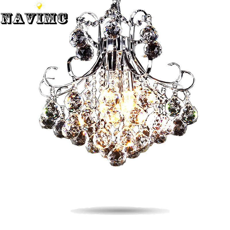 Modern Luxury 3 Light Crystal Chandelier Living Room Lamp Lustres De Cristal Indoor Lights Crystal Pendants For Sitting Room купить