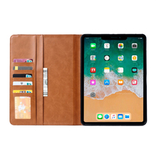 2019 High Quality Release Folio Leather Wallet Card Stand Case Cover Tablet Case For iPad