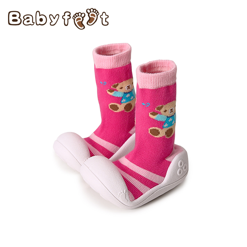 New Fashion Baby Shoes First Walkers Non Skid Soft Sole Toddler Soft Bottom Warm Embroidery Pattern