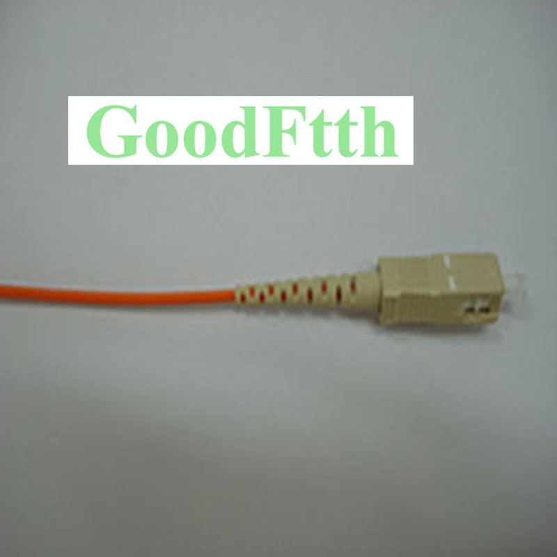 Fiber Optic Pigtail SC Multimode 62.5/125 OM1 Simplex 2mm GoodFtth 0.5-3m 2pcs/Lot