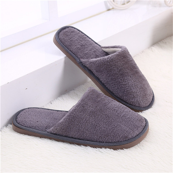 eab143217e3db Waikol 25% OFF Men's Slipper Winter Home Men Slippers Indoor Bedroom House  Soft Cotton Warm Shoes Male Flats Christmas Gift-in Slippers from Shoes on  ...