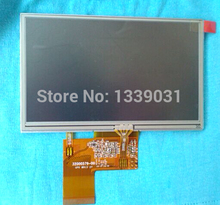 AT050TN33 V1 AT050TN33 V.1 5inch lcd monitor screen with digitizer/touch screen for Tomtom GPS,Mp4,PSP Free shipping