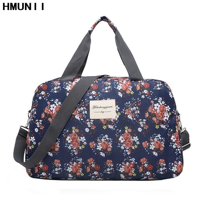 07dfb9ba0 2017 mujeres de moda hombro bolsa de viaje de gran capacidad de mano  equipaje bolsa ropa organizador glamour chica duffle Bolsas