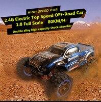 Ultimate Edition 1/8 масштаб 56 см модели автомобилей RC автомобиля 80 км/ч 4WD бесщеточный топ скорость водонепроницаемый бездорожье дистанционный пуль