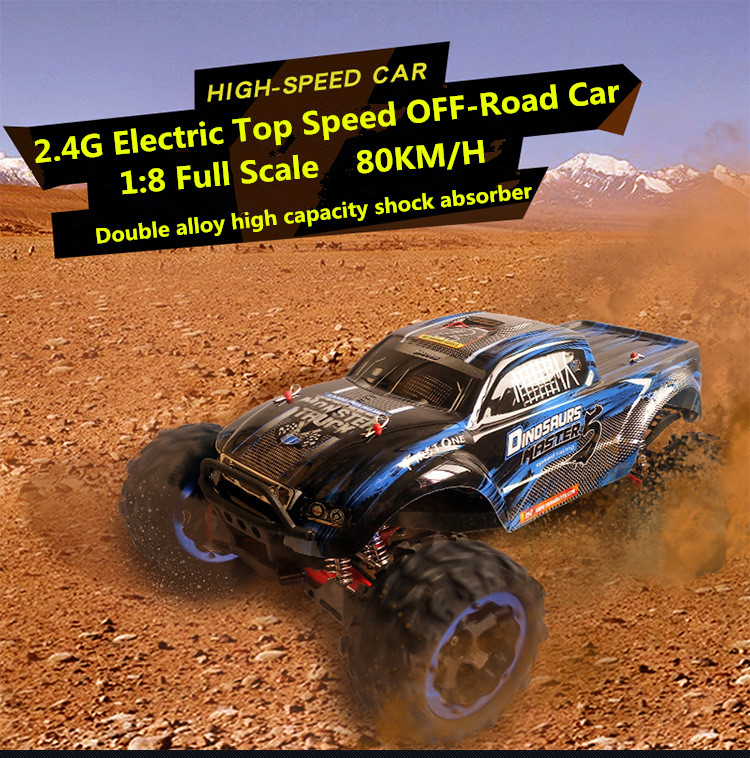 Ultimate Edition 1/8 масштаб 56 см модели автомобилей RC автомобиля 80 км/ч 4WD бесщеточный топ скорость водонепроницаемый бездорожье дистанционный пуль...
