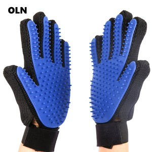 Silicone Pet Dog brush Glove D