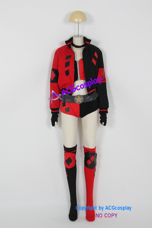 Harley Quinn Cosplay Costumes Rebirth Version ACGcosplay dc comic
