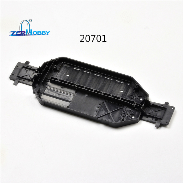 HSP RACING CAR SPARE PARTS ACCESSORIES CHASSIS 20701 FRONT REAR ...