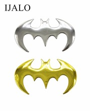 Free & Drop Shipping, BAT-1,  3D Car Sticker, Chrome Badge Emblem Decal,with retail bag packing, 2 pcs more 30% off