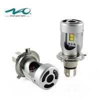 NAO H4 led Headlights Car LED Light Bulb H4 High Low Beam 12V 24V Flip Chip Lamp 6000K White 50W 5600LM Set 3000K Yellow C4