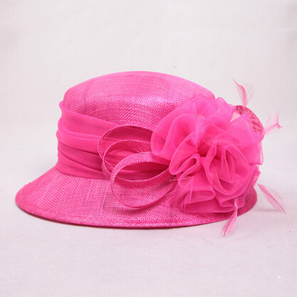 3af4bbbe83953 100% Philippines Material Rose Blue Khaki Sinamay Hat With Flower ...