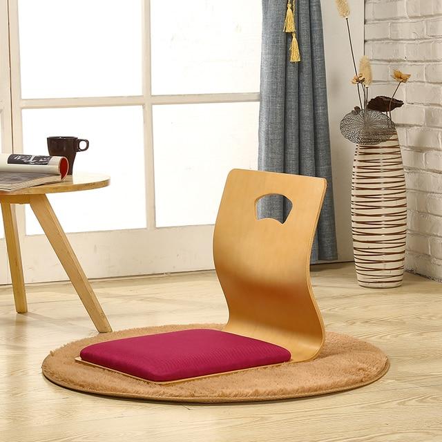 Фото 4 шт/лот стул без ноги в японском стиле толстое сиденье для