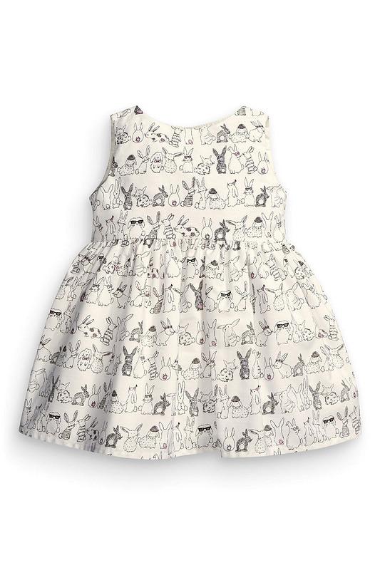 2016 bunny baby girls dress baby dress vestido infantil pattern printed dresses bunny baby