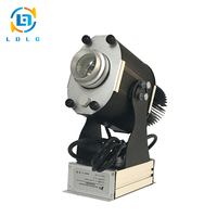 Clearance Sale Black Rustproof Rotary Image 30W LED Projector Slides 20m Throw 3100lumens Gobo Projector with 1 Three Color Gobo