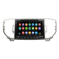 8Inch Quad Core HD1024 600 Android 5 1 1 Car DVD Player For KIA For SPORTAGE