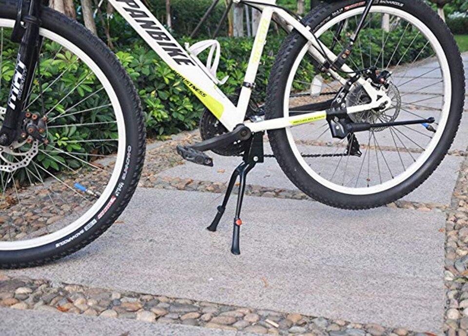 "28"" Double Leg Center Mount MTB Stand Bike Kickstand Aluminum Adjustable 24"""