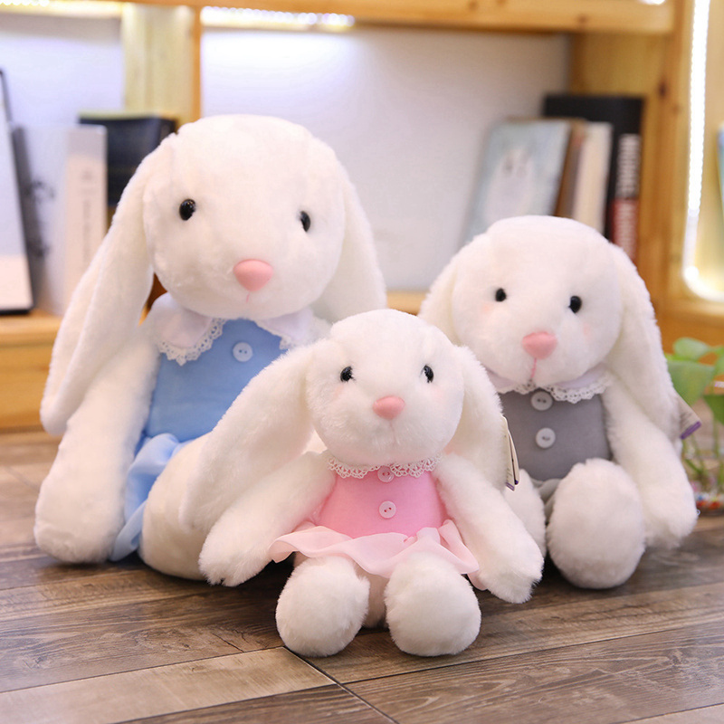 Cute Soft Bunny Rabbit Sleep Appease Doll Toy Cute Gift For Baby Girls 7N