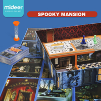 MiDeer Spooky Mansion Children House Escape Board Games Training Focus Exploration 3D Maze Toys Play'n Learn System 5Y+
