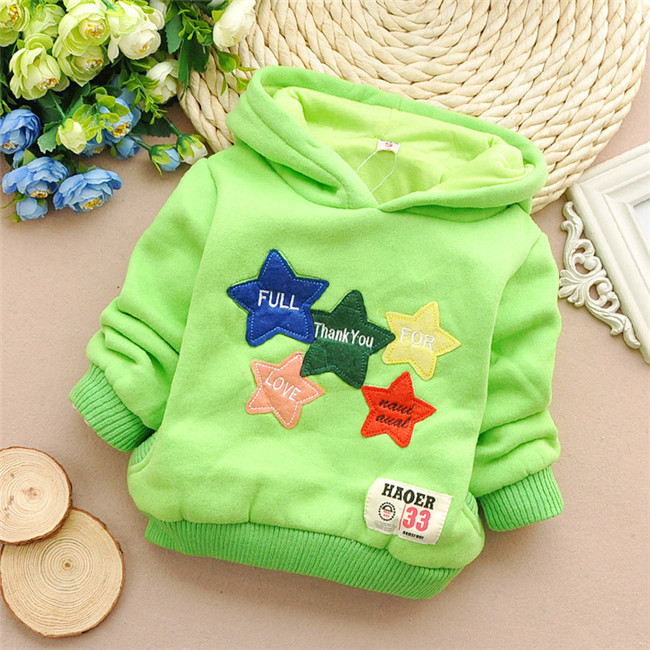 online shop free shipping new pentagrams autumn and winter baby boys and girls hoodies thick tshirtkid thick hoodiesz920 aliexpress