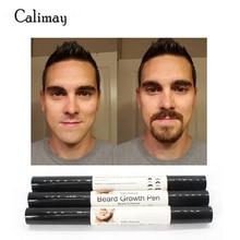 1 kus Muži Beard Growth Obočí růst obličejových chrámů vousy Shaper vlasy růst pero nástroj na péči o obličej