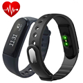 "ID101 Smart Band Heart Rate Wristband 0.91"" OLED Screen Intelligent Bracelet Bluetooth 4.0 Pedometer Remote Control PK Mi Band 2"