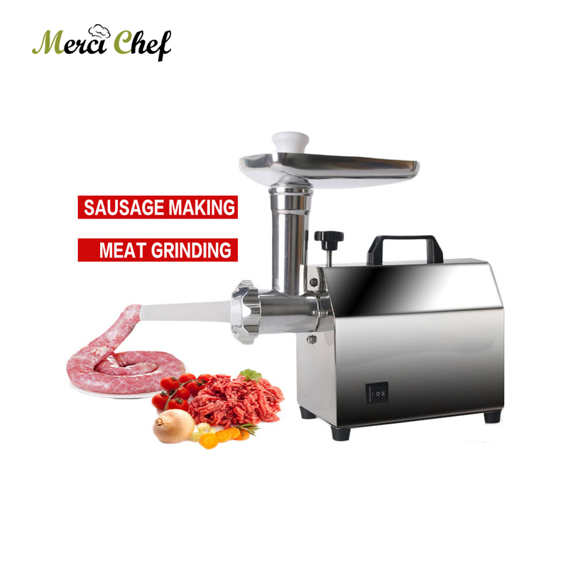 110-240V Electric Meat Grinder Heavy Duty Household Commercial Sausage Maker Meats Mincer Food Grinding Mincing Machine 110 240v electric meat grinder heavy duty household commercial sausage maker meats mincer food grinding mincing machine