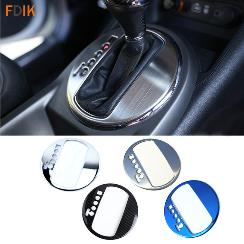 Stainless Steel Interior Shift Knob Gear Box Panel Molding Trim Cover Accessories For Kia Sportage R 2011 2012 2013 2014 2015
