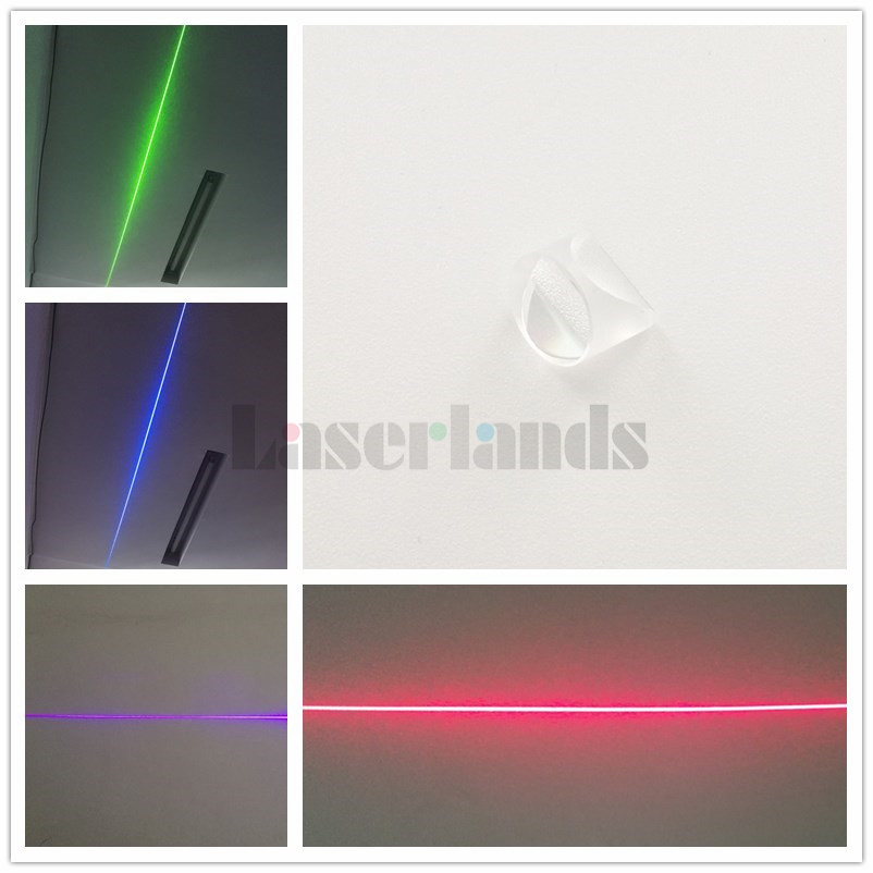 K9 110 degree Powell Lens Laser Optical Prism Glass Line Lens kzj 108p k9 rectangular prism