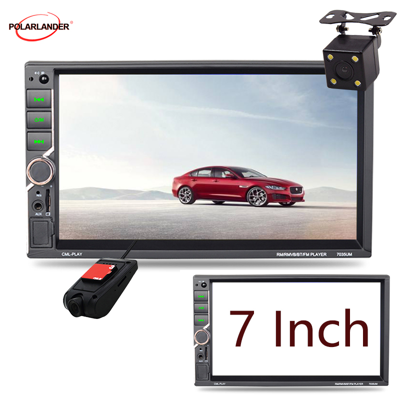 MirrorLink Auto Radio 7 39 39 2 DIN car radio Universal Car Multimedia Player Autoradio MP5 Support Rear View Camera Touch Screen in Car MP3 Players from Automobiles amp Motorcycles