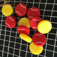 Ht Sale Tennis Racket Flat Ball Circular Silicon Rubber Shock Absorber 5pcs A Lot