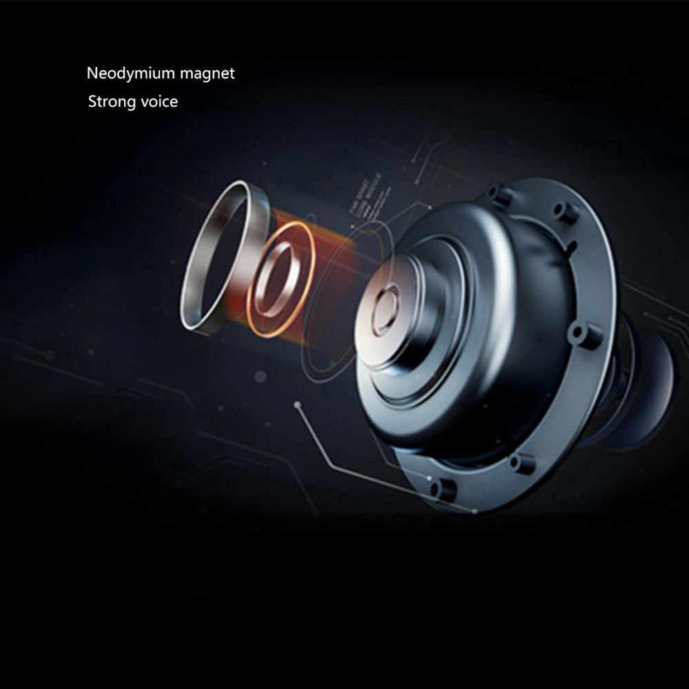 Wysokiej jakości douszne słuchawki basowe 3.5mm Bass metalowe słuchawki słuchawki izolacja akustyczna dla odtwarzaczy MP3 z mikrofonem ios/Androi