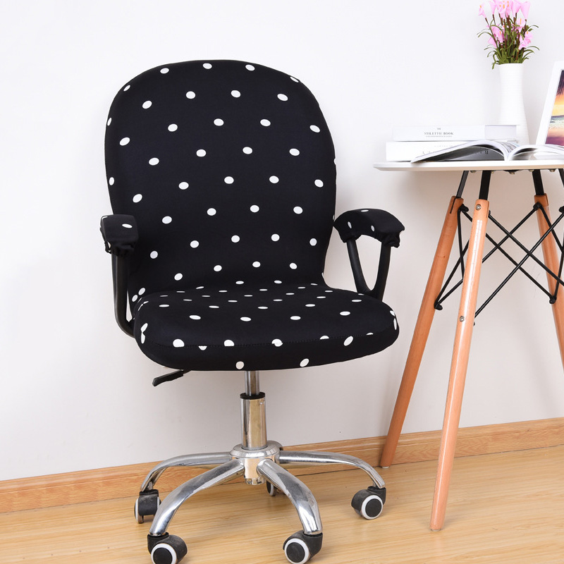 Swivel Chair Cover Stretchable Removable Computer Office Washable Rotating Lift TB Sale