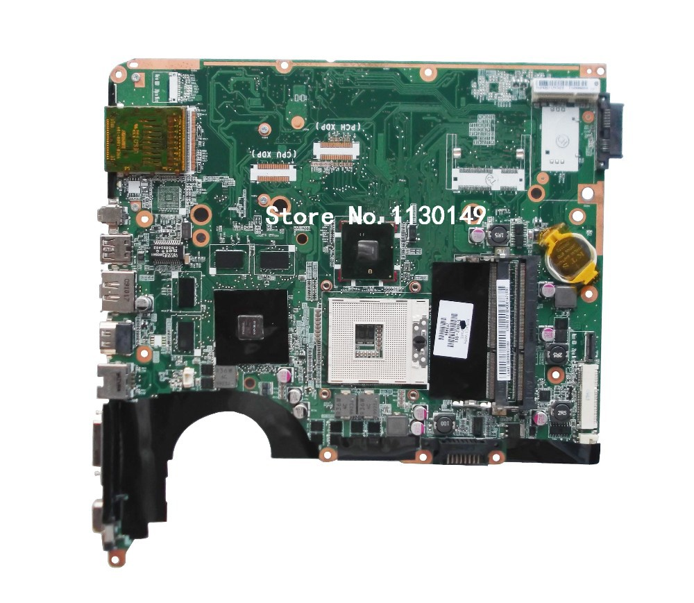 ФОТО Free Shipping For HP DV6 motherboard 574902-001 Motherboard 100% Tested