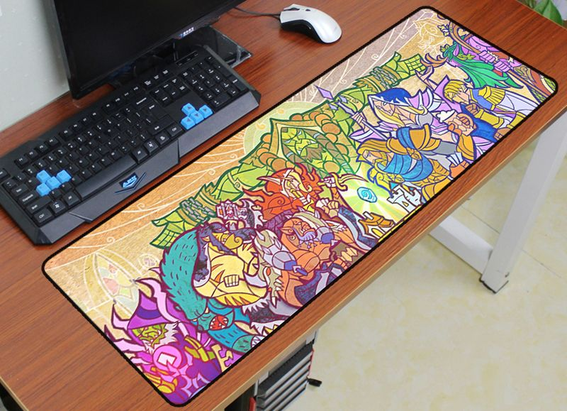 hearthstone mouse pad 900x300mm pad to mouse notbook. Black Bedroom Furniture Sets. Home Design Ideas