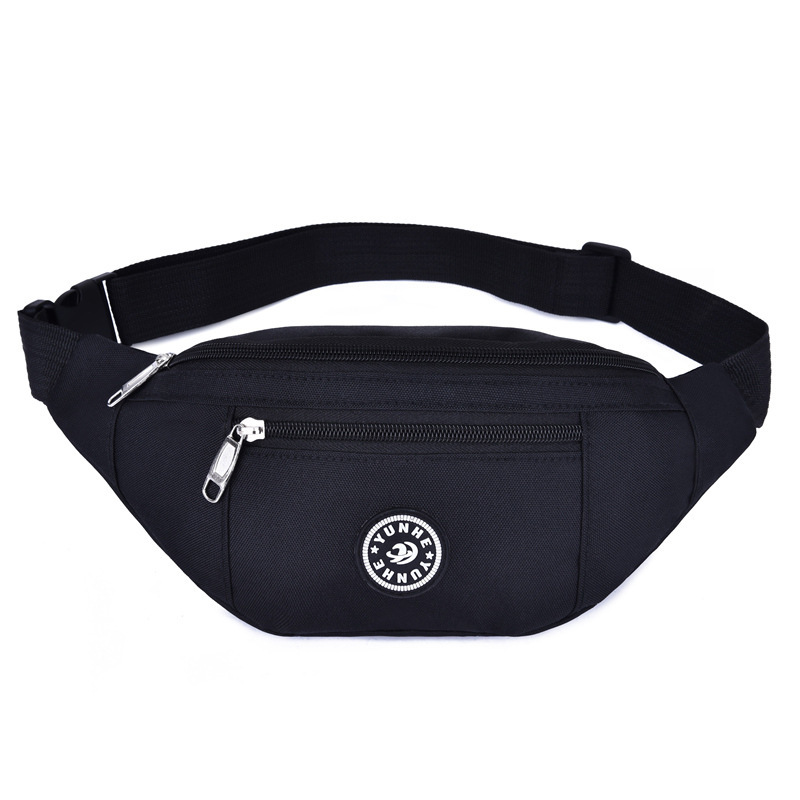 Nylon Waist Bag Women Belt Bag Men Fanny Pack Fashion Colorful Bum Bag Travel Purse Phone Pouch Pocket Multi-function Chest Pack