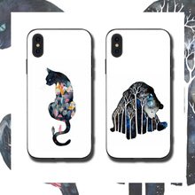 Cat Bear Phone Cases Cover for iphone X XR XS MAX 6 6s 7 8 Plus TPU Cover Coque For iphone 7 8Plus iphone 5SE Cases rick and motry phone cases cover for iphone x xr xs max 6 6s 7 8 plus tpu cover coque for iphone 7 8plus iphone 5se cases