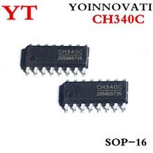10 шт./лот CH340C CH340 лапками углублением SOP-16 наилучшее качество ic