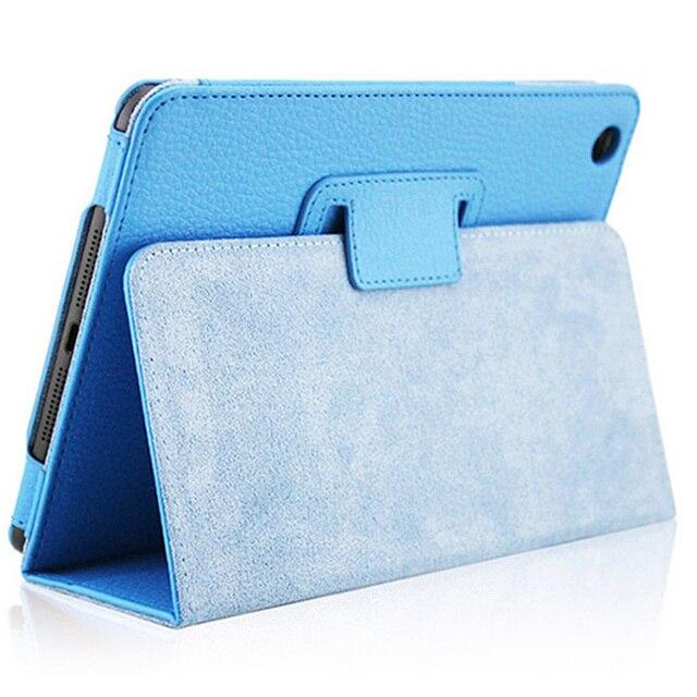For iPad mini Fashion PU Leather Case for iPad mini 1 2 3 Retina Retro Flip Flexible Stand Slim Cover