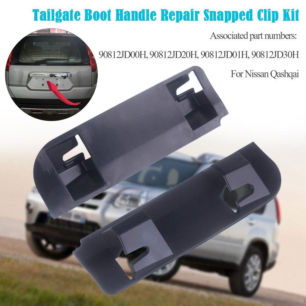 beler 5Pcs Rear Tailgate Handle Fixing Kit Bolts Set Repair