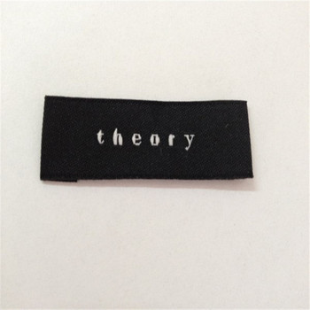 Custom High Density Garment  Label  Woven Label For clothing