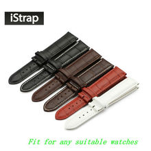 Calf Leather Watch Band Watch Strap 12 13 14 15 16 18 19 20 21 22 24mm For Omega Victorinox Certina Blancpain Iwc Seiko