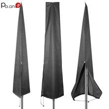 Крышка зонта для патио, антивозрастной садовый зонтик, пылезащитный павильон, пляжный зонтик, чехол, прочная уличная мебель, защита