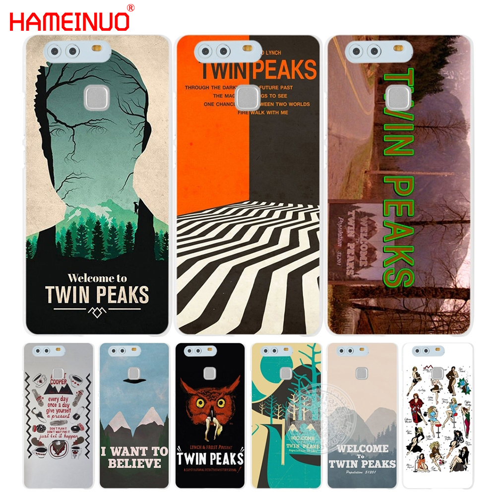 HAMEINUO Welcome To Twin Peaks Cover phone Case for huawei Ascend P7 P8 P9 P10 lite plus G8 G7 honor 5C 2017